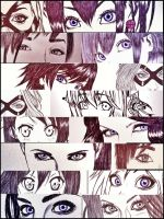 Eyes collection 01 by carldraw