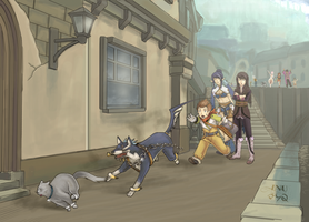 :TOV: A Job for Brave Vesperia by Inupii