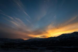 Sunset over Heber-1 by Willied2111