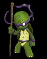 TMNT donatello by Billysut
