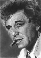 Peter Falk by MagicalMococoa