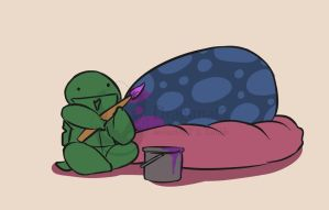 TMNTCC Cute Tots 24 by Dragona15