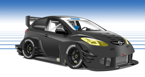 Mazda 2R - No decal vers. by StylePixelStudios