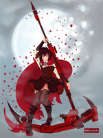 Ruby Rose by hearts-and-pins
