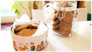 Ginger Cookies by pandrina