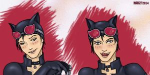 catlad tim drake faces by NarciSSai