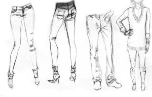 Clothes Study by CharlotteHarlot