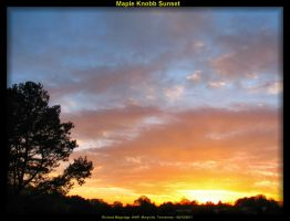 Maple Knobb Sunset 1 by slowdog294