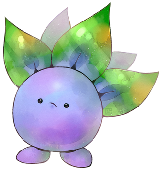 Oddish by Louivi