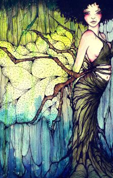 dryad  tears by manje