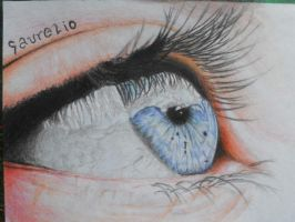 EYE DRAWING :) by stephanieAurelio