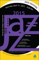 Jazz Poster Project (Typography) by Sonikku001