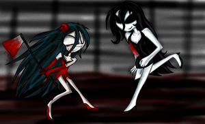 Rose Vs Jane by Fun-Time-Is-Party