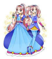 [Request] Cure Sparkle for PriMagnus2008 by chiyako92