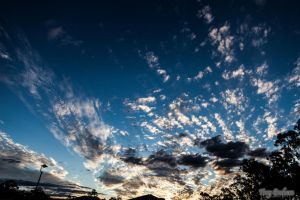 The afternoon sky by droy333