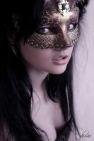 Lady in the mask by sku4iic