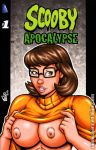 Naughty Velma bust sketch cover by gb2k