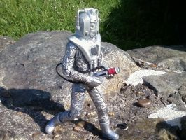 Doctor Who - Cyberman in the Death Zone by DoctorWhoOne