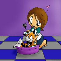 .:+Bath Time - Color+:. by Mokenda