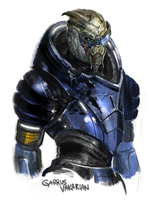 Garrus by Mao718