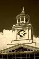 Clock by MaryahDPhotography