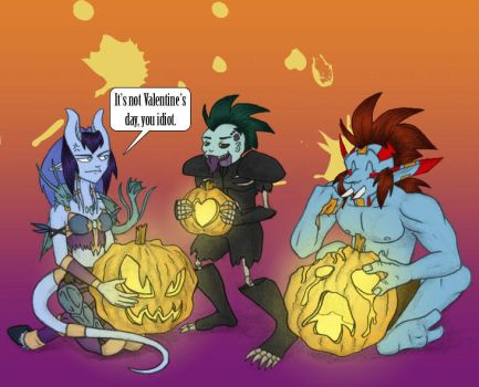 Heroic Misfits: Comic 101 by Dragon-Element