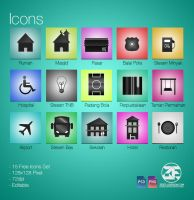 15 Free Icons Sets by zestladesign