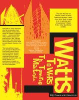 Watts Towers Avertisement #1 by CZProductions
