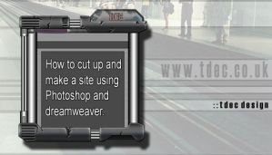 Dreamweaver photoshop Websites by theste
