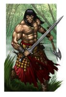 Conan the Cimmerian 2013 by RubusTheBarbarian