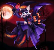 Happy Halloween 2012 with rouge by IndI-Art
