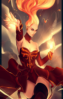 Lina - Fiery Soul by Swenom