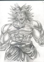 The Legend - Broly by Earthquake2009