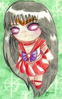 Sailor Mars by aoi-milk