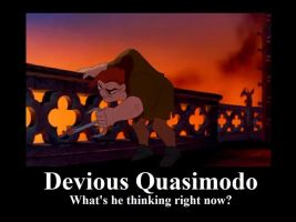 Devious Quasimodo by BelleSura