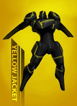 Yellow Jacket by RedusTheRiotAct
