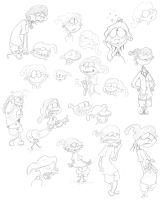 Another Edd Sketch Dump by skull-boy666