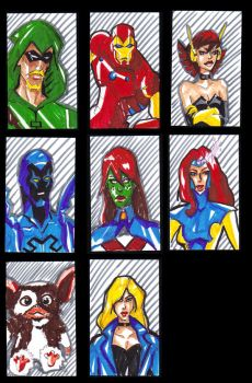 Sketch Cards 2 by shaunamobley