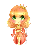 Raffle Prize: second place! - Clementine by AmiWarai