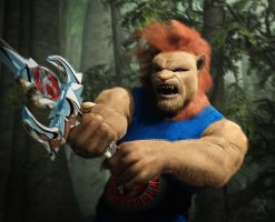 ThunderCats!!!!!! by RawArt3d