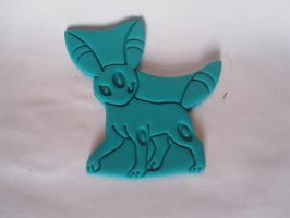 Umbreon Cookie Cutter by B2Squared