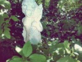 garden angel by GrafixGirlIreland