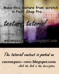 Tutorial: Textures from Scratch in Paint Shop Pro by rosebfischer