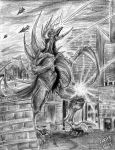 Gigan by CorvenIcenail