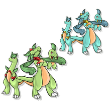 Grabud, Grablade, and Grablitz by iceroy