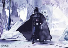 Darth Vader Hoth by David-c2011