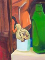 Still-life with Gourd by joshthecartoonguy