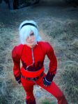 Ash Crimson - King of fighters by Andrewbluefire