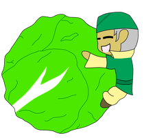 Cabbage Man! by StrayNekox3