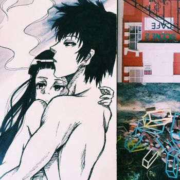REQUEST: Rikako Oryu x Shinya kogami by shangrilye